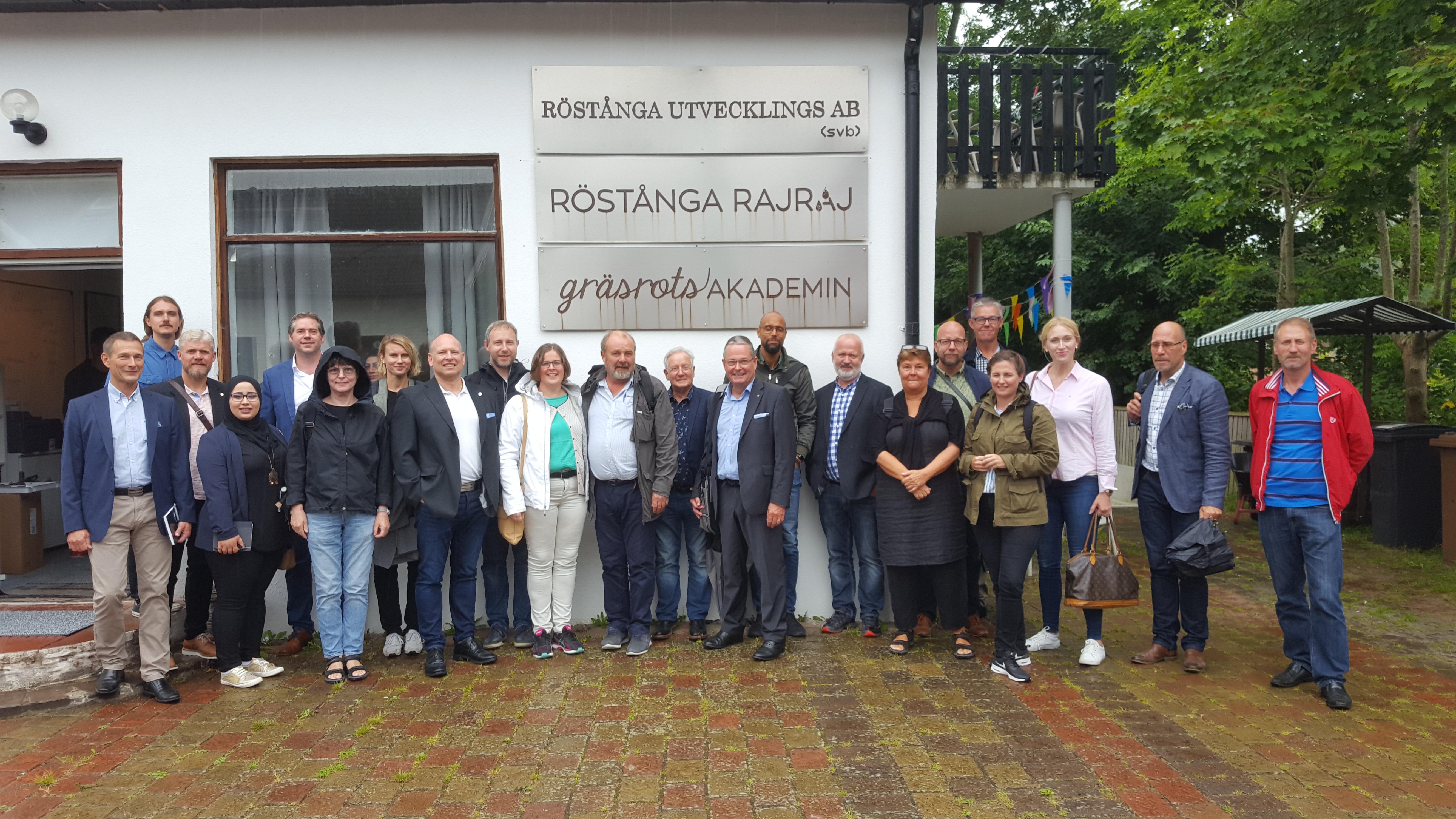 Inspirerande medlemsmöte med Fastighetsägare Sofielund