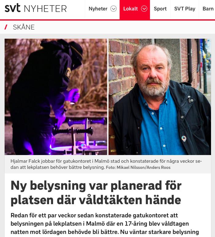 artikel på svt.se