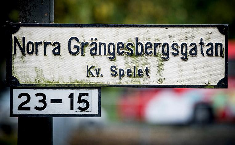 Norra Grängesbergsgatan i Malmö.
