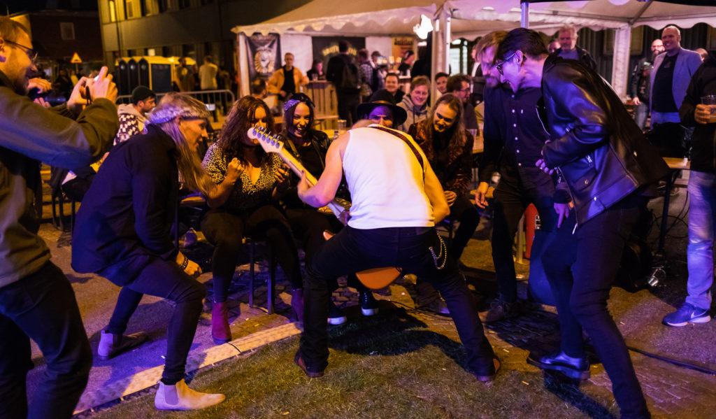 Ögonblicksbild från gatufesten NGBG på Sofielund i Malmö.