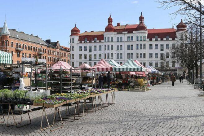 Möllevångstorget i Malmö.