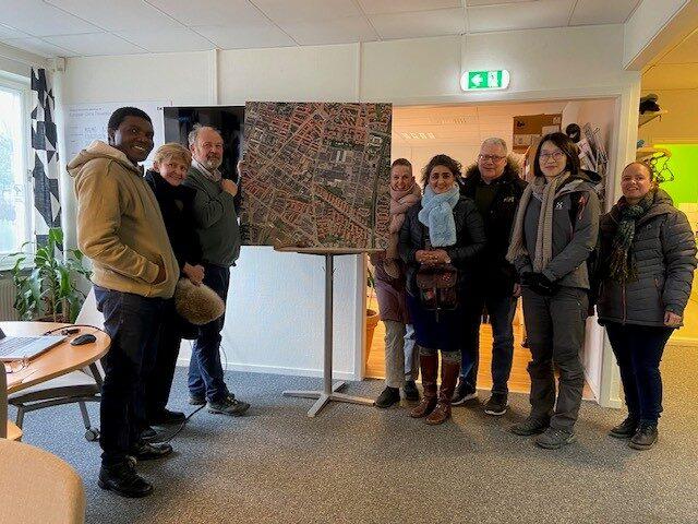 Stadsplanerare på besök