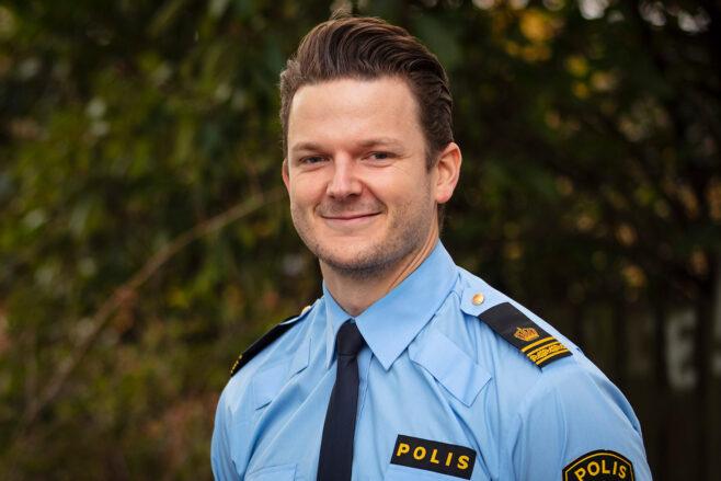 kommunpolis Freddy Nilsson